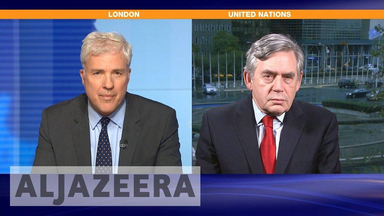 Gordon Brown: ICC investigate Idlib school bombing