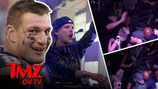 Avicii Honored By Gronk's Dance Moves! | TMZ TV