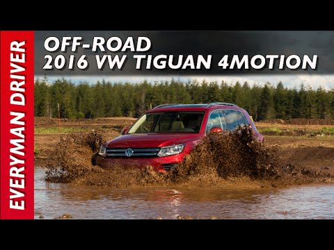 Off-Road Drive: 2016 Volkswagen Tiguan on Everyman Driver