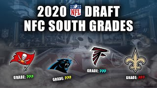 2020 NFL Draft Grades | All 7-Rounds | NFC South