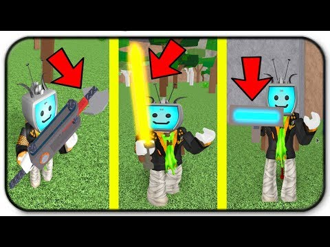 Trying Out The Robux Axes Auto Axe,  The Heater And The Emitter - Roblox Woodcutting Simulator