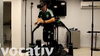 Referee A Soccer Game In Virtual Reality