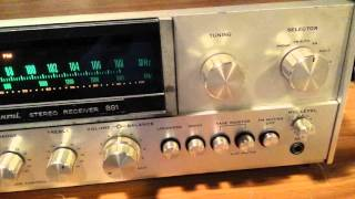 Sansui 881 Receiver.  Top of the Line.  Rescued from the Recycle Pile.