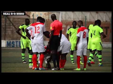 REAL DE BANJUL VS BRIKAMA UNITED GFF 1st Division League 2016/2017 2nd Round
