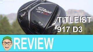 Titleist 917 D3 Driver