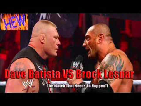 Brock Lesnar Vs Batista 2013 Jonathan Clarke Talks ...