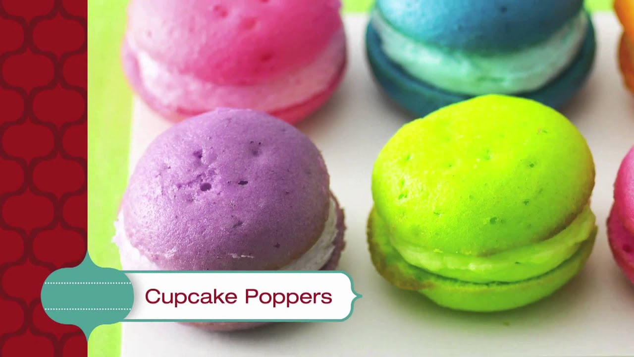 Cupcake Poppers - Betty Crocker39s Red Hot Holiday Trends.mov ...