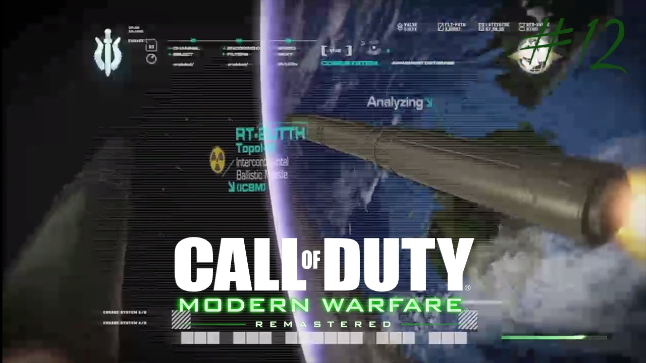 Call of Duty Modern Warfare Remastered: All in/No Fighting in The War  Room/Game Over [Part 12]