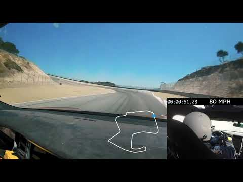 Tesla Model S Fastest Lap at Laguna Seca
