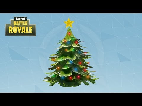 Let It Snow Christmas Trees Fortnite Battle Royale Live 1