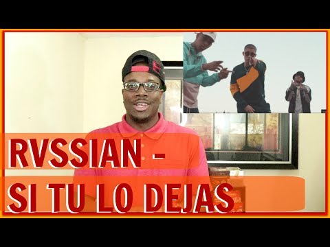 Rvssian - Si Tu Lo Dejas FT Bad Bunny X Farruko X Nicky Jam X King Kosa| Couple Reacts