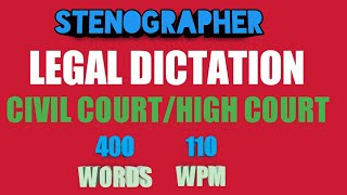 legal dictation in shorthand in high court - Website hàng đầu về