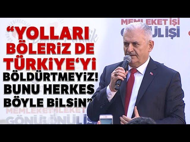 AK Parti'nin İstanbul Adayı Binali Yıldırım Pendik'te Halka Hitap Etti