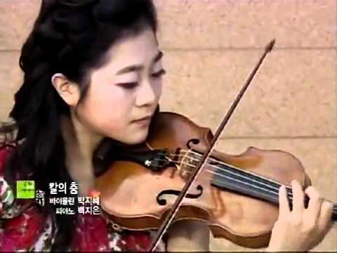 박지혜 바이올리니스트 바이올린 연주 왕벌의비행 칼의춤