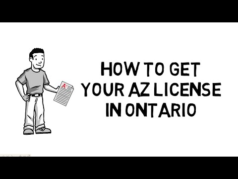 How To Get Your AZ License In Ontario | Tri-County Training