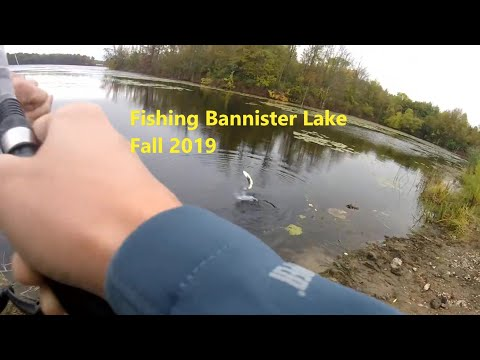 Fishing Bannister Lake - Fall Pike!