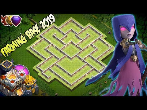 NEW BEST! Farming Base Town Hall 11 (TH11) 2019! - Hybrid Farming Base Clash Of Clans
