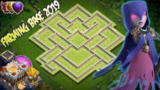NEW BEST Farming Base Town Hall 11 TH11 2019 Hybrid Farming Base Clash Of Clans