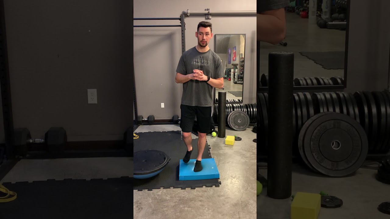 Ankle Mobility: Balancing