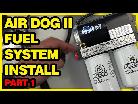 Airdog Ii Fuel System Installation Dodge Cummins Video