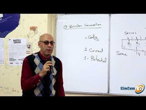 Lecture 8 part 1 - Direct current (Resistors connection)