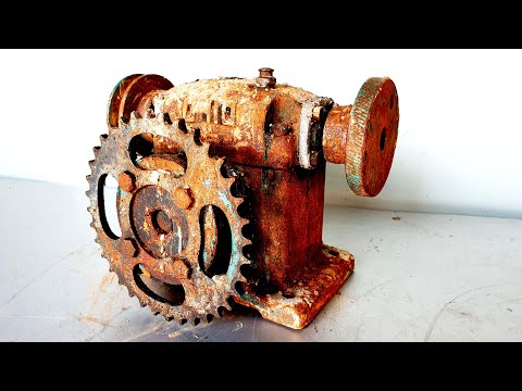 Restoration and reuse old rusted OHIO GEAR gearboxes | Resto