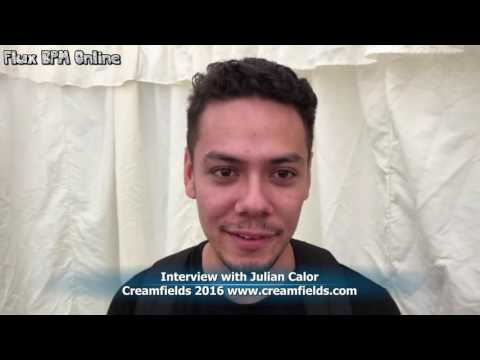 Creamfields 2016: Interview with Julian Calor