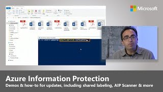 Azure Information Protection: Unified labeling, on-prem scanning and protection across platforms thumbnail
