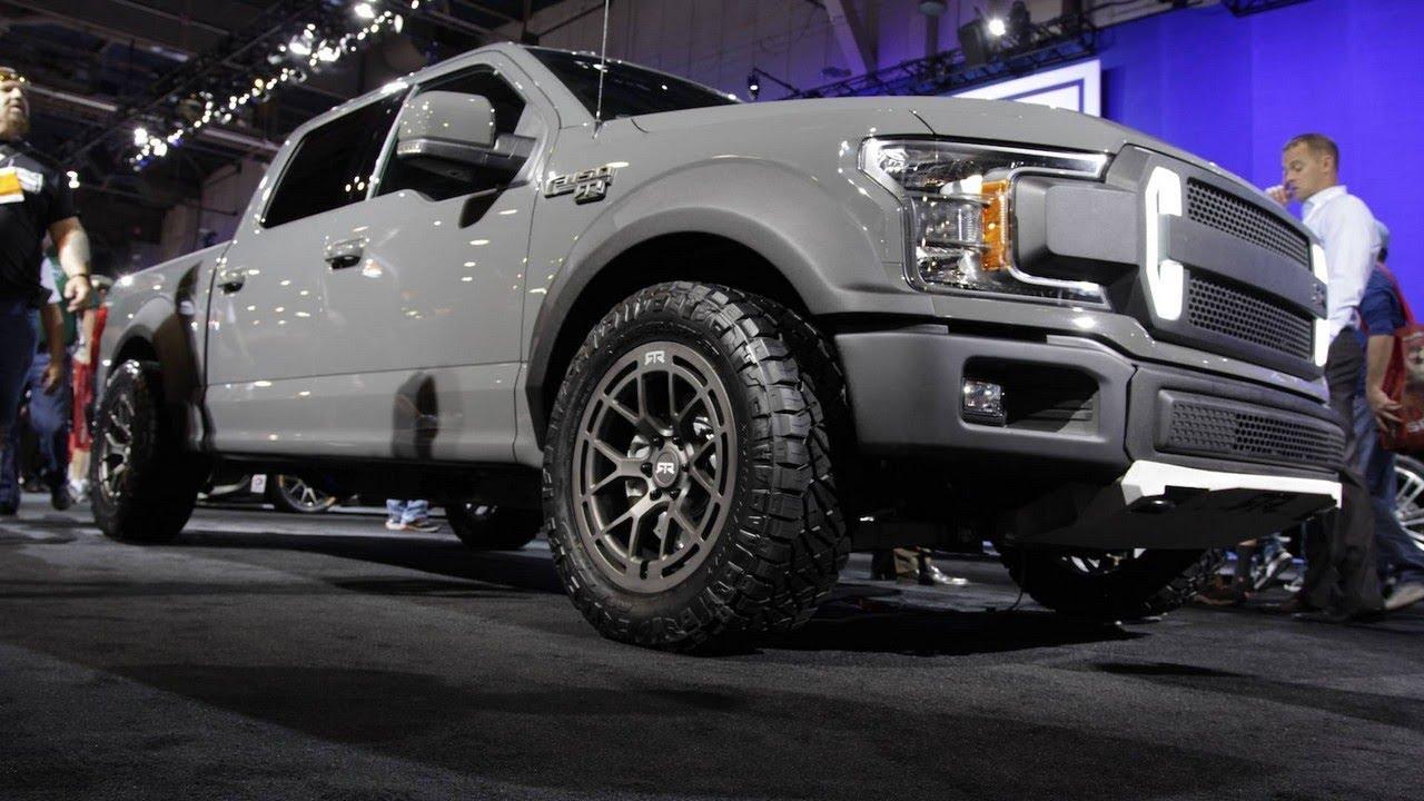 2018 Ford F 150 Rtr Concept  At Sema Show