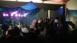 Takie Ndou sings Here I am to Worship in East Lynne Hall Pretoria
