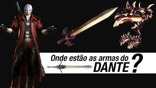 Oque Dante fez com suas armas?