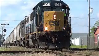 Video All EMD and one Leslie RS5T CSX 8511 SD50 download MP3, 3GP, MP4, WEBM, AVI, FLV November 2018