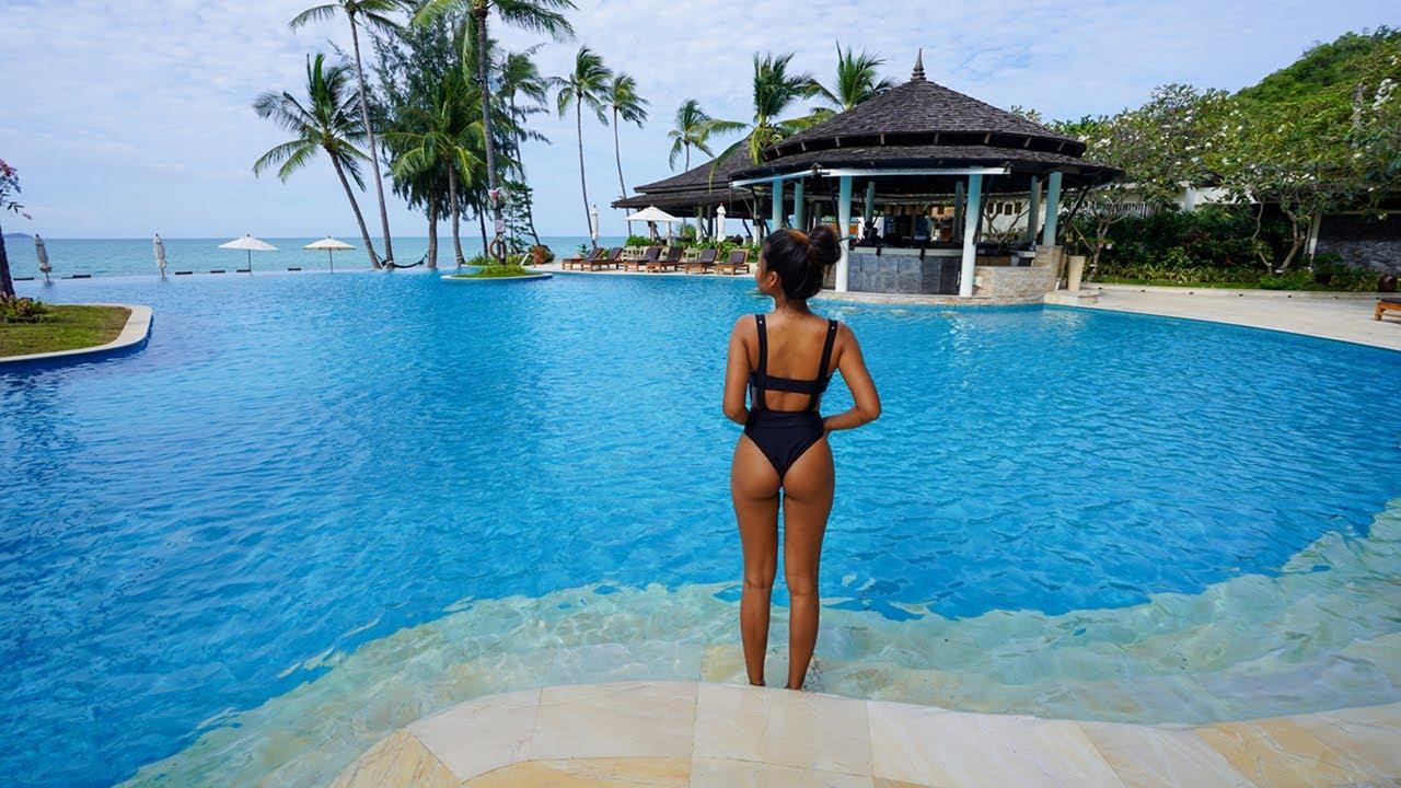 Thailand LUXURY BEACH RESORT - Full Tour and Review of Melati Koh Samui