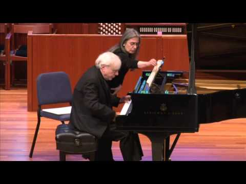 Richard Goode, pianist - Beethoven Sonata No. 31 in A-flat, Op 110, Mvt. 4