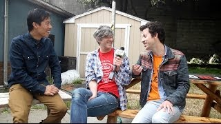 Keith Murray and Chris Cain of We Are Scientists speak with B-Sides...