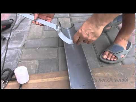 Как сделать слив с крыши своими руками из канализационных труб