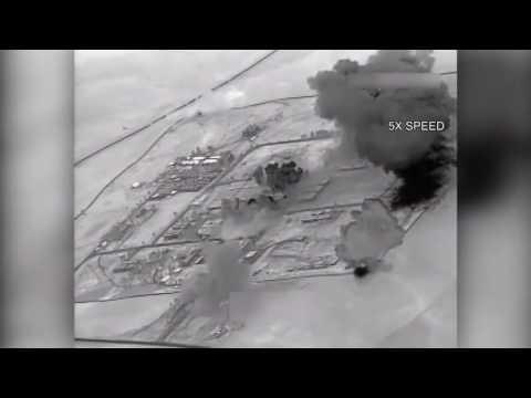 Sept. 12, 2016 - Da'esh HQ Chemical Munitions Factory Strikes Mosul, Iraq