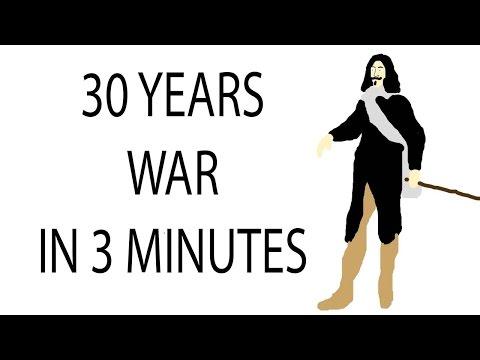 30 Years War | 3 Minute History