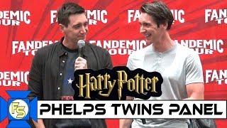 HARRY POTTER Phelps Twins Panel - Fandemic Tour Houston 2019