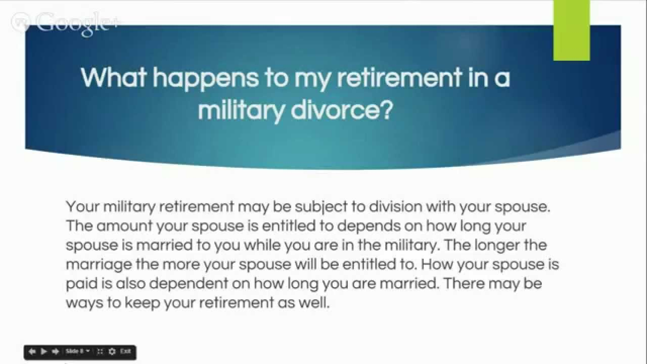 Military Divorce What Every Service Member Needs To Know