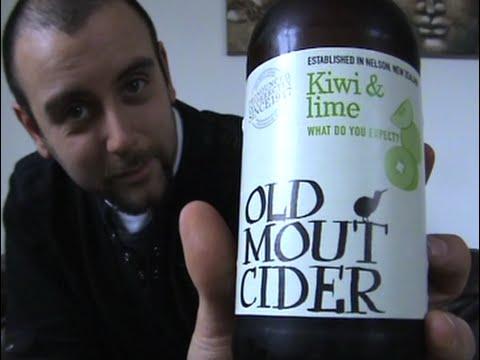 The Cider Drinker - Old Mout Kiwi & Lime