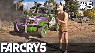 FAR CRY 5 Gameplay PL [#5] PECHOWE Autko, WYPADKI /z Skie