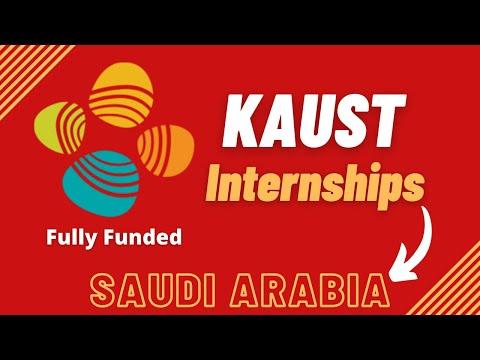 KAUST Internship | Fully Funded | Step by Step Process | Internships in Saudi Arabia