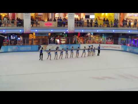 BatiX Synchronized Skating, Skate Asia 2016, 1st place