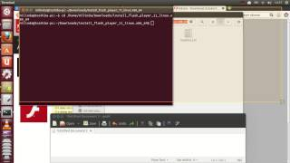 Install Adobe flash player on ubuntu for Firefox