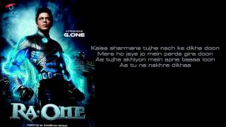 Chammak Challo - Ra-one- Karaoke by yakub