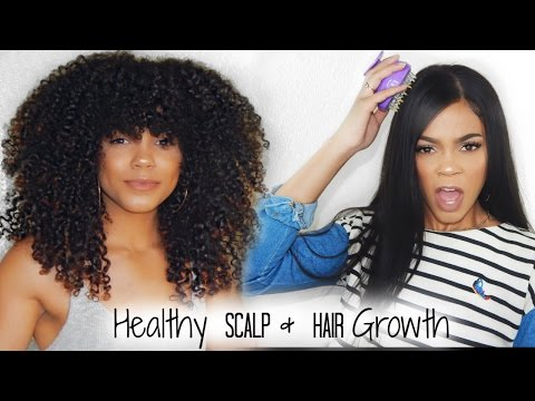 How to Stimulate Hair Growth + Maintain a Healthy Scalp