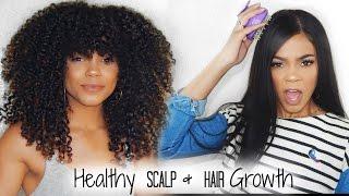 How to Stimulate Hair Growth + Maintain a Healthy Scalp