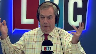 The Nigel Farage Show On Sunday: Trump one year on. Success or failure? LBC - 21st January 2018