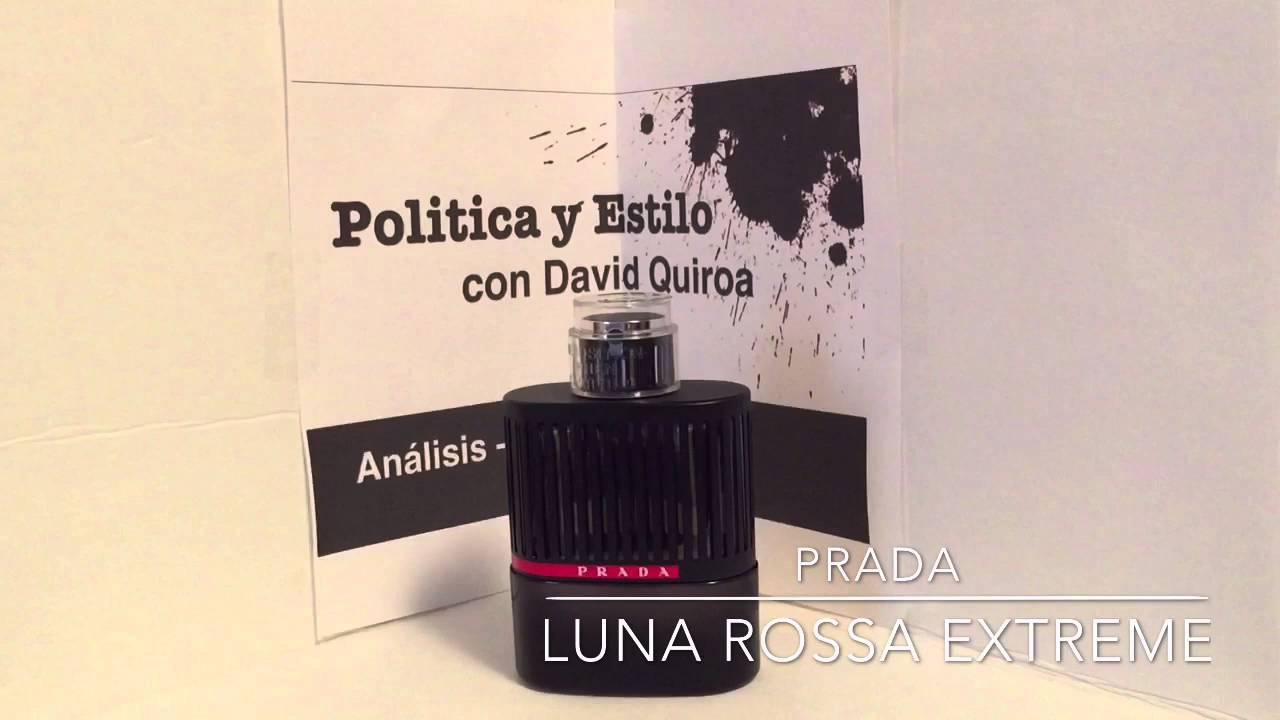 0179d7ab7e51 Prada Luna Rossa Extreme Fragrance Review (En Español) perfume de hombre